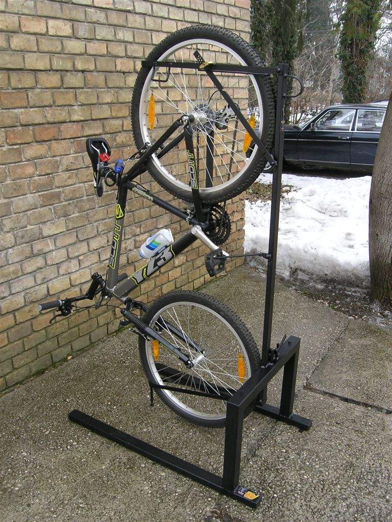 Vertical And Horizontal Bicycle Parking Racks Systems